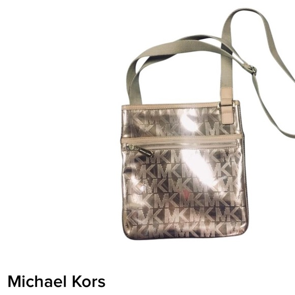 80cb7e616d0c Michael Kors Metallic Rose Gold Crossbody Bag. M_5c3a09cdaaa5b8c46842bd88
